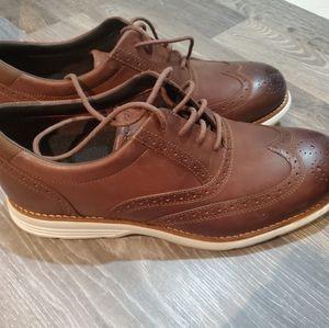 Mens rockport brown shoe